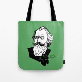 Johannes Brahms Tote Bag