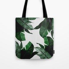 Banana Palm Leaves Tote Bag