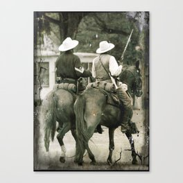 BUFFALO SOLDIERS 2 Canvas Print