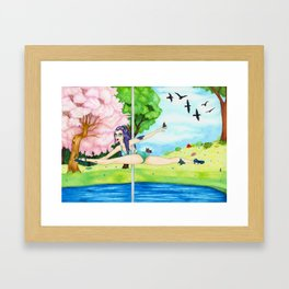 September 2017 Framed Art Print