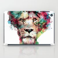 king iPad Cases featuring THE KING by RIZA PEKER
