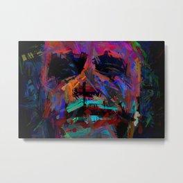 Abstract Rainbow Camouflage II Metal Print