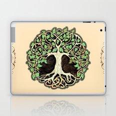 Celtic tree of life Laptop & iPad Skin