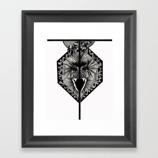 Letter T Framed Art Print