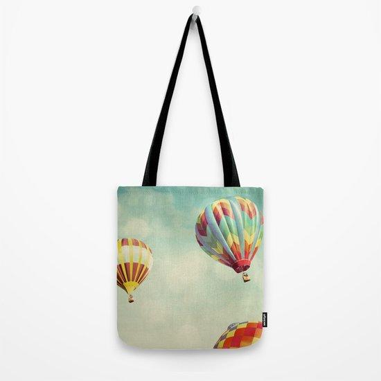 Perfect Dream - Hot Air Balloons Tote Bag