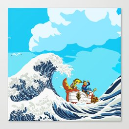 Link adventure Canvas Print