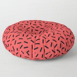 Memphis sprinkles Pattern 325 Floor Pillow