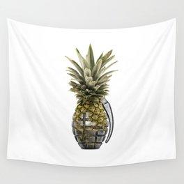 Pineapple Grenade Wall Tapestry
