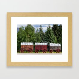 You Died of Dysentery Framed Art Print