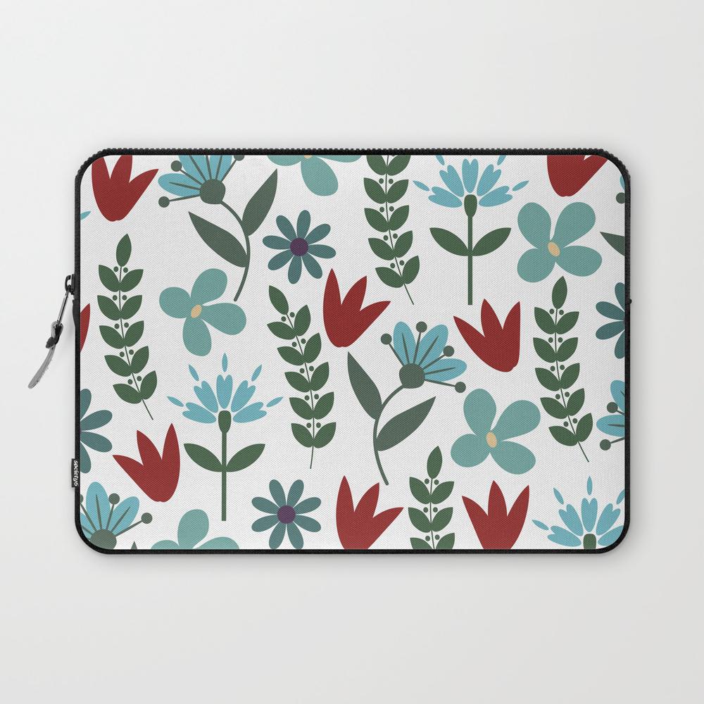Flower Pattern Viii Laptop Sleeve LSV8038006