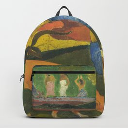 Arearea by Paul Gauguin Backpack