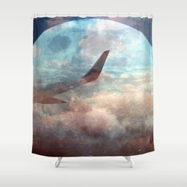 The bright side of the Moon Shower Curtain