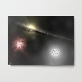 Quark Star Metal Print