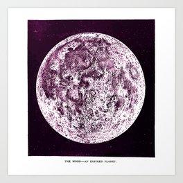An Expired Planet Art Print