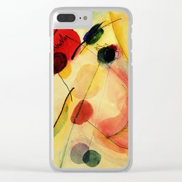 Wassily Kandinsky - Untitled 1916 Clear iPhone Case