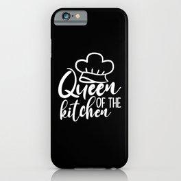 Kitchen Queen iPhone Case