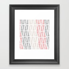 Sponge Print Framed Art Print