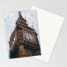 Big Ben of London Stationery Cards