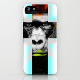 Crossed Ape iPhone Case
