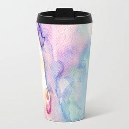 Burning Girl Travel Mug