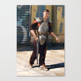Post Apocalyptic Scobe Canvas Print