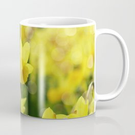 Bright Yellow Narcissus Coffee Mug