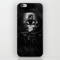 punisher iPhone & iPod Skins featuring The Punisher by dTydlacka