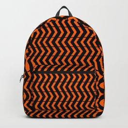 Play Orange and Black Backpack