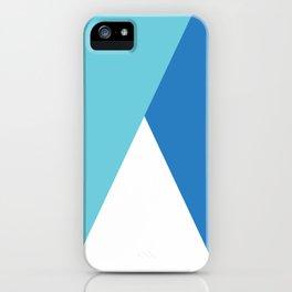 Elegant geometric design iPhone Case