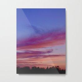 Thunder Bay River Sunset Metal Print