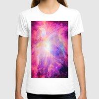 nebula T-shirts featuring Pink Purple Orion NebulA by 2sweet4words Designs