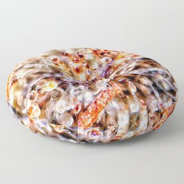 Amber Trichomes Purple Diamond OG Indoor Hydro Dank Buds Close Up View Floor Pillow