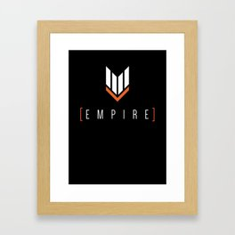 Thronesmelt - Empire Shirt Framed Art Print