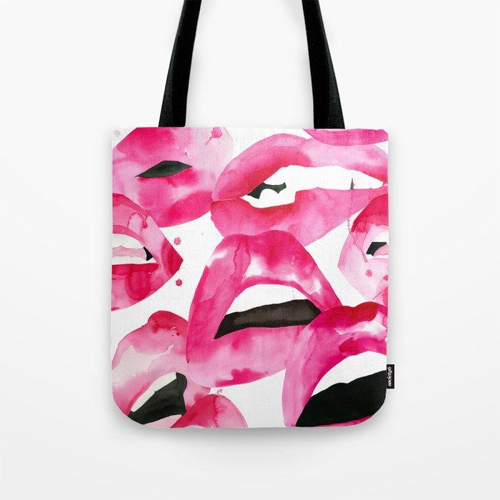 Lip Service Tote Bag