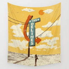 THE DELINES - Official Merch Poster Wall Tapestry