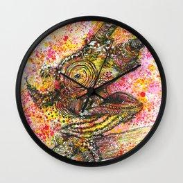 Canelo, the Chameleon Wall Clock