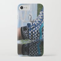 vans iPhone & iPod Cases featuring Dirty vans by Bryden McDonald