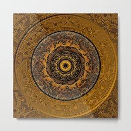 Song Of Heaven Mandala Metal Print