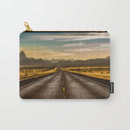 Road trip to Big Bend Carry-All Pouch
