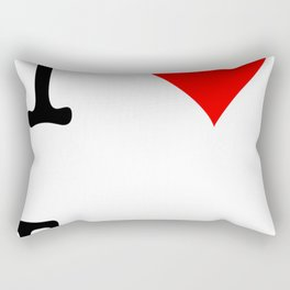 I Love Trees copy Rectangular Pillow