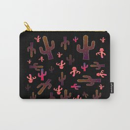 Cactus Family Night Carry-All Pouch