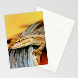 Lizard Art One Stationery Cards