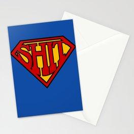 Superman Sucks Stationery Cards