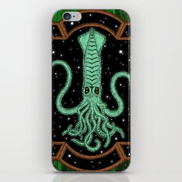 Squids in Space! iPhone Skin