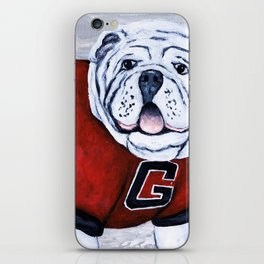 Georgia Bulldog Uga X College Mascot iPhone Skin