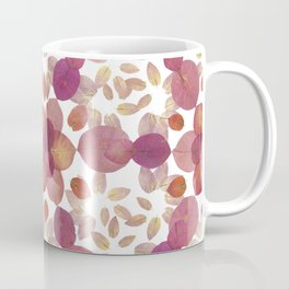 Pink Petal Pattern Coffee Mug