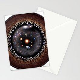 Observable Universe Logarithmic Illustration (2019 Version!) Stationery Cards