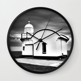 Tacking Point Lighthouse Wall Clock