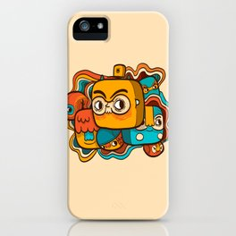 The Extraordinary League of Doodles iPhone Case