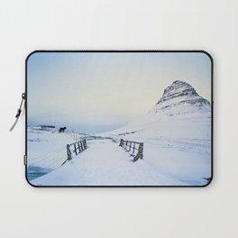 Kirkjufell- Icelandic Horses Laptop Sleeve